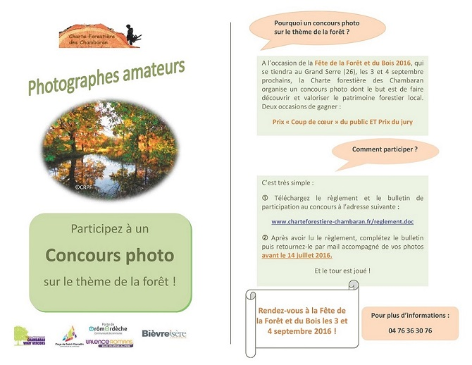 Concours photo forêt